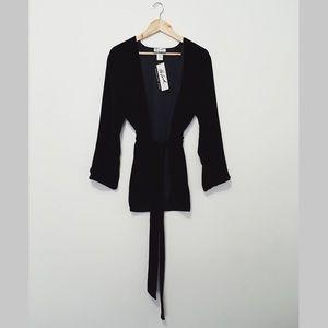 100% Silk Randolph Duke Reversible Sweater!